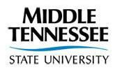 Logo von Middle Tennessee State University