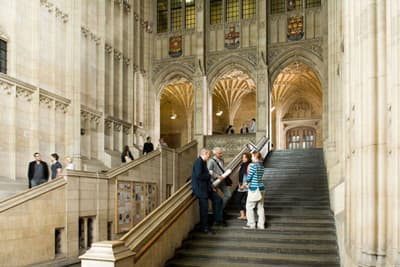 Wills Memorial Building von innen