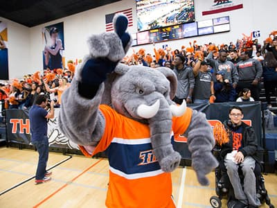 Tuffy, Maskottchen der California State University Fullerton