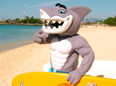Sharky, Maskottchen der Hawaii Pacific University