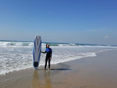 Surfer in Kalifornien