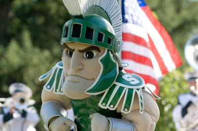 Sparty, Maskottchen der Michigan State University