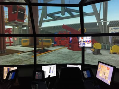 Drilling Simulator der Robert Gordon University (Schottland)