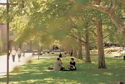 Campus der University of Melbourne