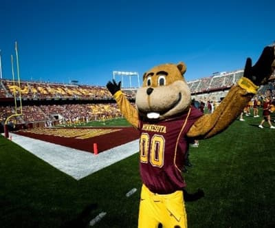 Goldy Gopher, Maskottchen der University of Minnesota