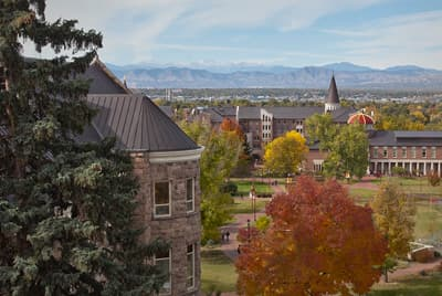 Campus der University of Denver