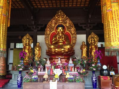 Altar in Guilin in China