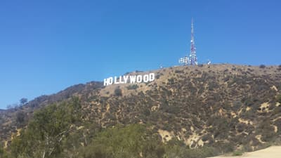 Hollywood Hills in Los Angeles (USA)