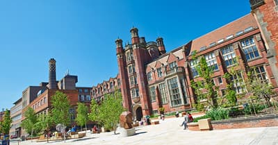 Campus der Newcastle University