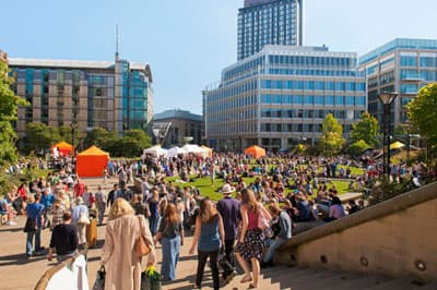 Food Festival in Sheffield