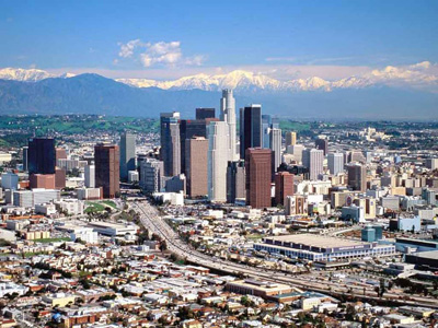 Skyline von Los Angeles