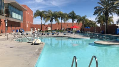 Pool der CSU Long Beach