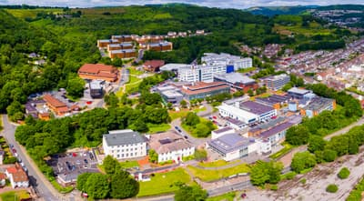 Campus der University of South Wales