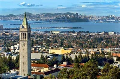Internationale Studierende in Berkeley