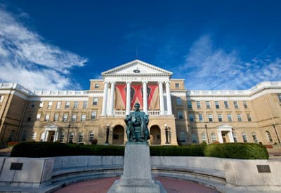 Bascom Hall der UW Madison