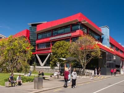 Te Aro Campus an der Victoria University Wellington