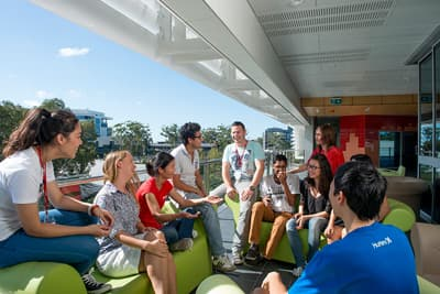 Studierende der Griffith University - Gold Coast in Australien