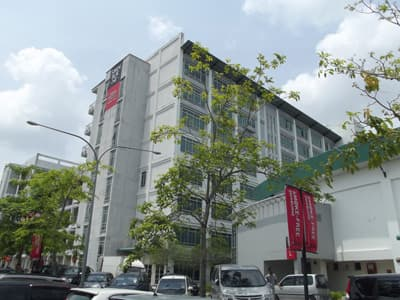 Gebäude der Swinburne University of Technology - Sarawak