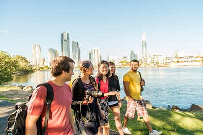Studenten der Griffith University - Gold Coast (Australien)