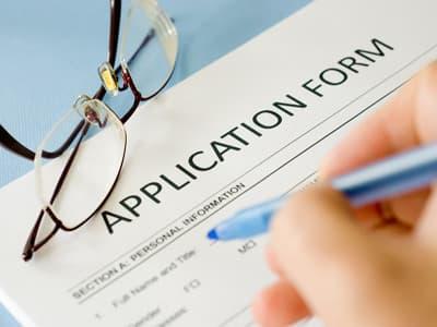 Bewerbungsformular Für Ein Auslandsstudium