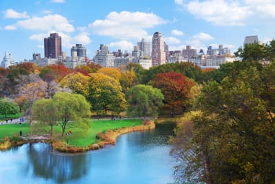 Der Central Park in Manhattan (New York City, USA)