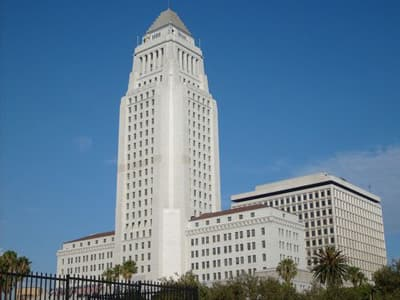 City Hall von Los Angeles (USA)