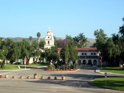 Universitätsgelände der CSU Channel Islands (USA)