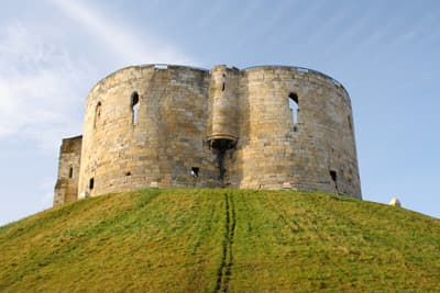 Clifford's Tower in York (England)