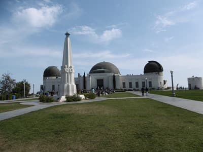 Griffith Observatory in Hollywood (Los Angeles)