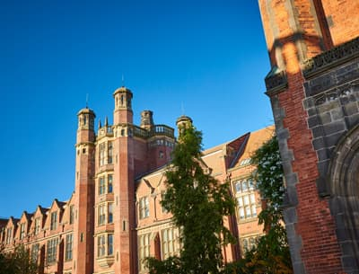 Frontansicht der Newcastle University