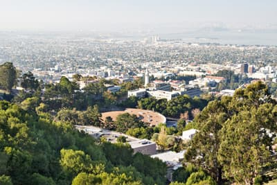 Campus der University of California Berkeley