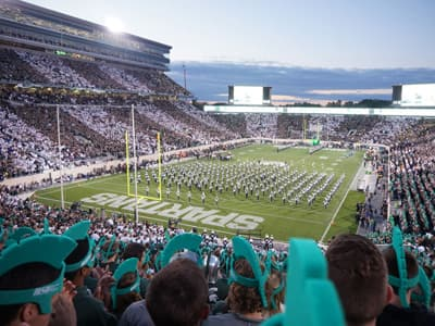 Spartan Stadium der Michigan State University (USA)