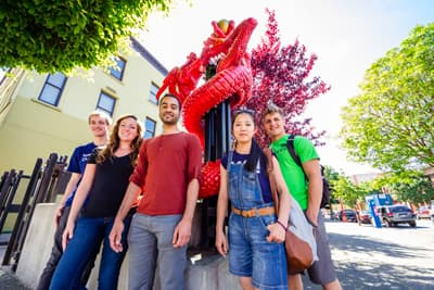 Internationale Studenten am Camosun College