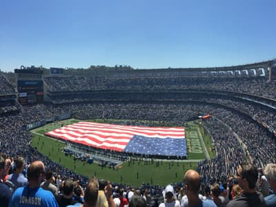 Qualcomm Stadium in San Diego (USA)