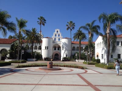 Hepner Hall der SDSU (USA)
