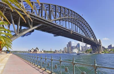 Harbour Bridge in Sydney (Australien)