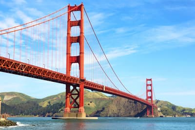 Die Golden Gate Bridge in San Francisco (USA)