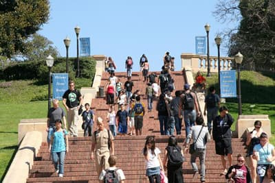 Janss Steps der University of California Los Angeles (USA)